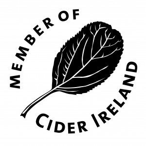 Cider Ireland Member logo B&W ART