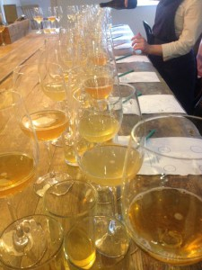 Cider tasting at hatch & Sons, June 2015
